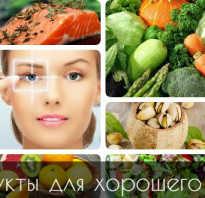 Какие продукты полезны для глаз и зрения