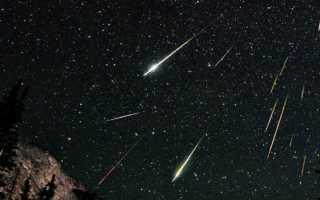 Из за чего возникают метеорные потоки