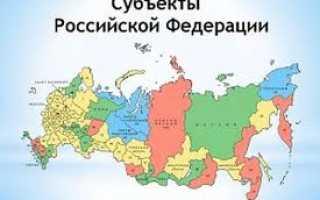 Какие есть республики в составе РФ