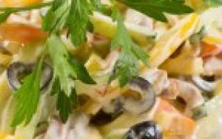 Какие можно сделать салаты с майонезом