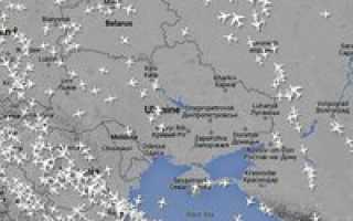 Куда из России не летают самолеты