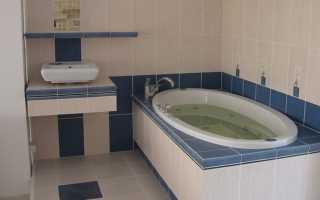 Как ванну обложить плиткой от стены
