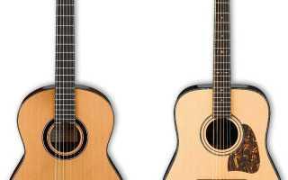 Как выбрать акустическую гитару начинающему