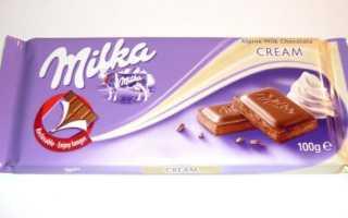Милка вкусный шоколад