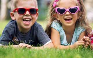 Нужны ли ребёнку солнечные очки