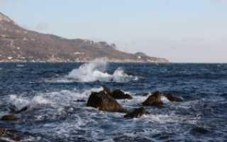Какая температура воды в море в Евпатории