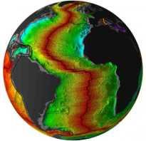 Где земная кора имеет наименьшую толщину