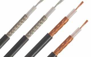 Что такое волновое сопротивление кабеля