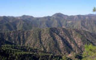 Как называются горы Кипра