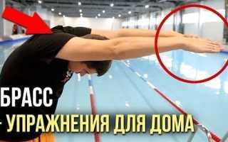Как плавать брассом