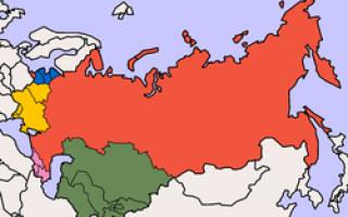 Какие страны относятся к ближнему зарубежью