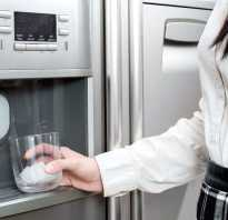 Что такое генератор льда в холодильнике