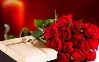 Какого цвета розы подарить девушке на свидание